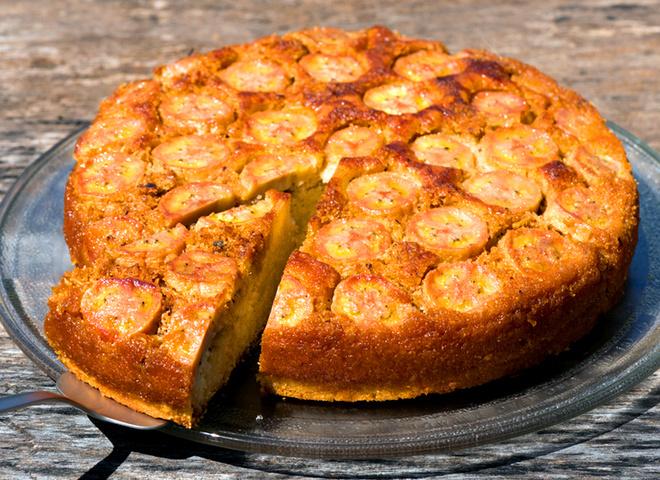Рецепт изумительного бананового пирога за 30 минут