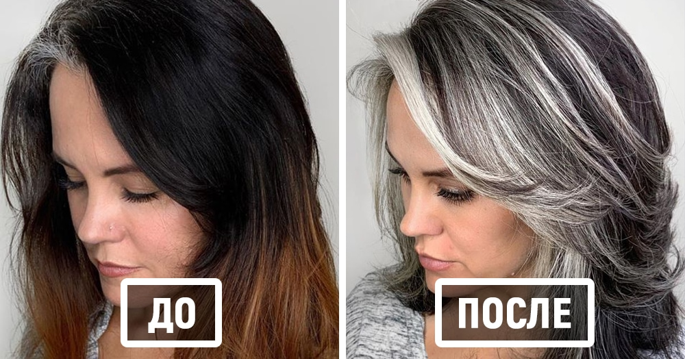 11 работ парикмахера, который возвращает клиенткам естественную седину так, что её больше не хочется скрывать