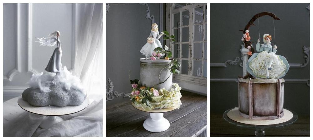 Потрясающе сказочные торты от кондитера Елены Гнут, произведениe искусства!