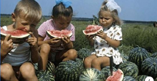 Наше беззаботное советское девство на фото. Для всех, кто скучает!