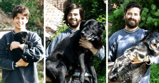 Как изменились собаки и их хозяева спустя года