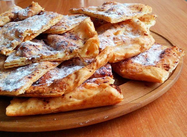 Рецепт потрясающих заварных лепешек с яблоками