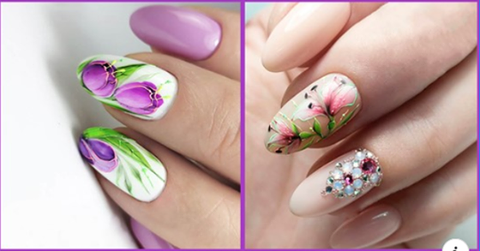 Нежнейший дизайн ногтей для самых женственных рук