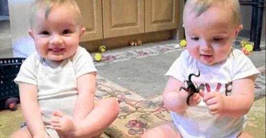Смешные близнецы пародируют папу. 16 000 000 просмотров!