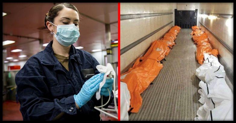 «Это похоже на холокост»: медсестра из Нью-Йорка поделилась пугающим снимком