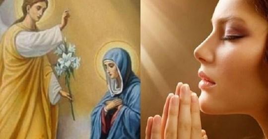 Молитва в день Благовещения Пресвятой Богородицы, которую должна прочитать каждая женщина