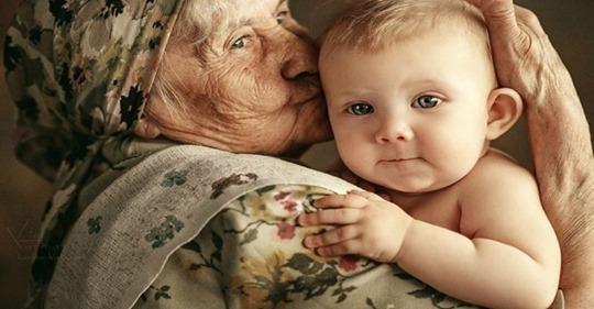 Нет в мире ничего более совершенного, чем любовь бабушки к её первому внуку