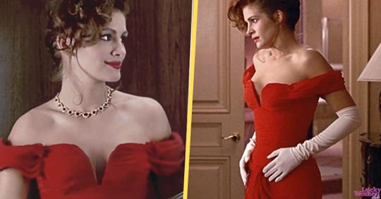 10 роскошных красных платьев из известных фильмов