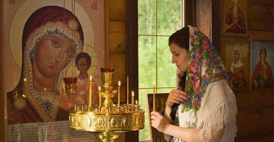 Молитва детей об усопших родителях. Светлая память.