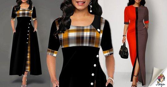 Оригинальные платья – отличный способ визуальной коррекции фигуры