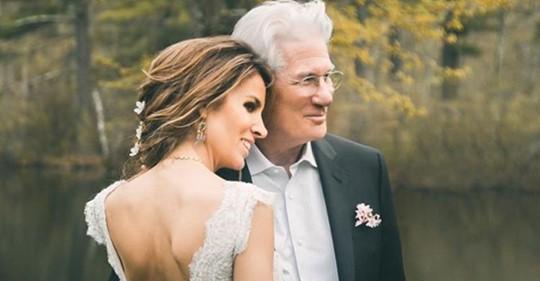 Жена Ричарда Гира: «Это была судьба. Карма. Мы это поняли в тот момент, когда встретились»