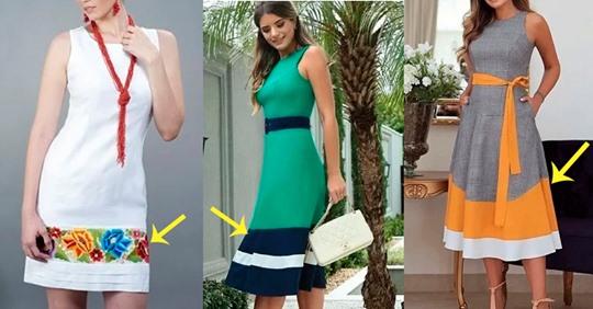 Как удлинить платье: 14 сложных и простых вариантов модной переделки