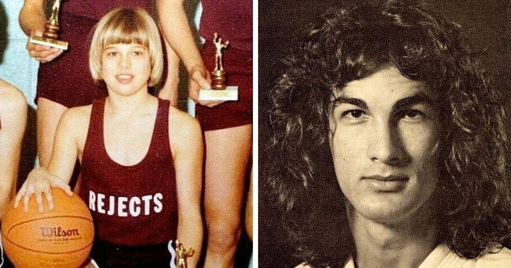 17 фотографий знаменитостей из тех времён, когда их знали только одноклассники, а не весь мир