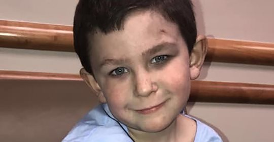 5-летний мальчик сначала вынес сестричку из пылающего дома, а затем вернулся за собакой
