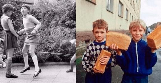 Снимки, которые покажут детство наших родителей. Сколько веселья и игр!