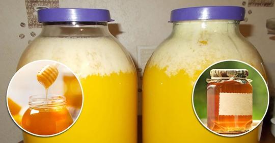 А вы знали, что означает белая пена в банке мёда?