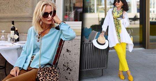 Эффектные летние образы: 20 модных вариантов для женщин 50+
