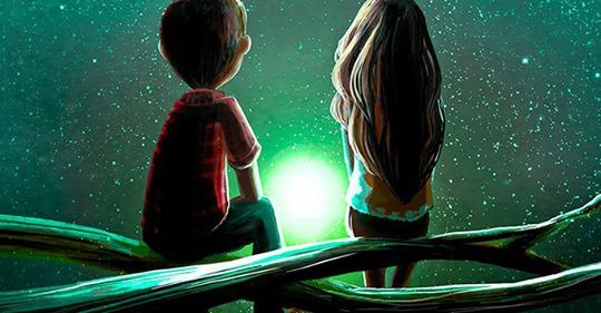 Если двум душам предназначено быть вместе, они найдут путь друг к другу