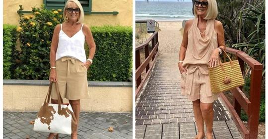 Летние шорты для зрелых женщин: модели, фасоны и рекомендации стилиста