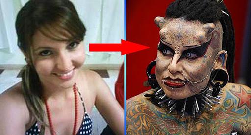 Безумные превращения! 10 человек, изменившие свою внешность до безобразия