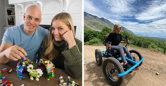 Парень изобрёл для своей девушки с инвалидностью особый внедорожник, и по крутости он не уступает обычному
