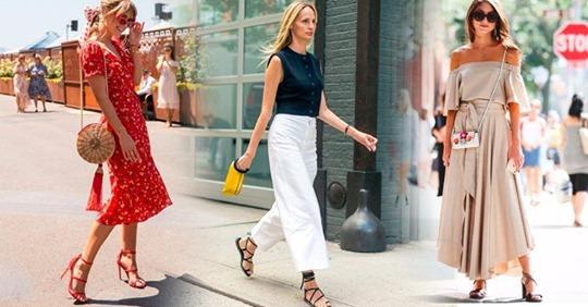 25 красивых идей как стильно одеваться в жару