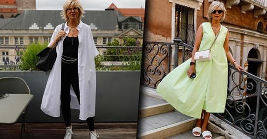 16 шикарных летних образов для женщин 45+