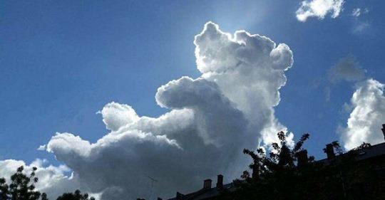 18 фотоснимков облаков, в которых невозможно не рассмотреть изображения