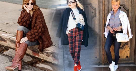 20 осенних вещей в городском стиле для женщин 40-50 лет