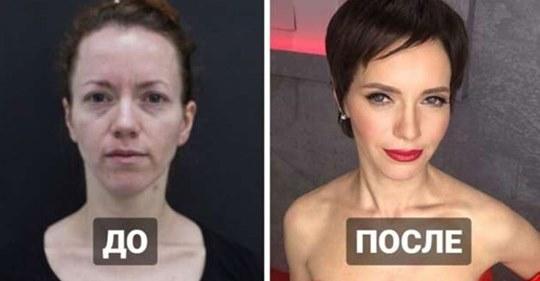 Чудеса макияжа: 20 девушек, которые попали в руки настоящих профессионалов