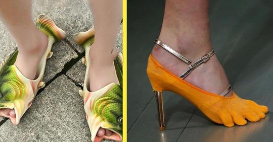 10 пар обуви, которую вы бы не обули даже за деньги