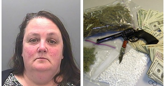 Бабушка-гангстер: 52-летняя британка возглавляла группу рэкетиров и торговала кокаином
