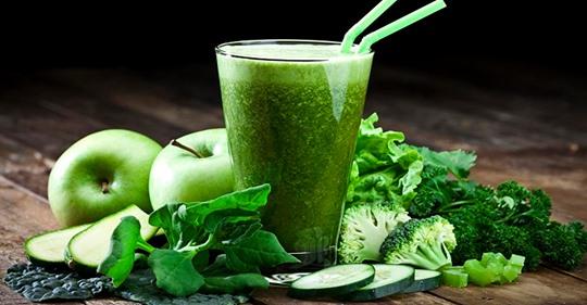 8 удивительных вещей происходят в вашем теле, когда вы пьёте зеленые соки!