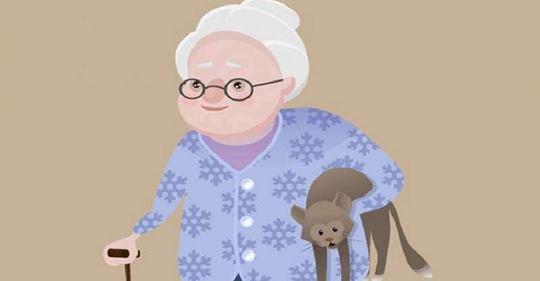 Уморительный анекдот про старушку и три её заветных желания