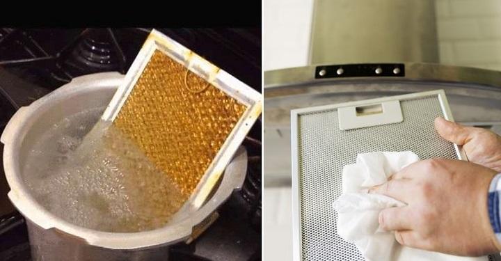 Лайфхаки: как легко и без лишних усилий вымыть вытяжку от жира