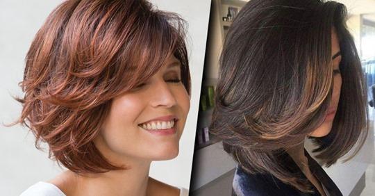 Эффектные причёски после 40 лет на средние волосы: 20 интересных вариантов