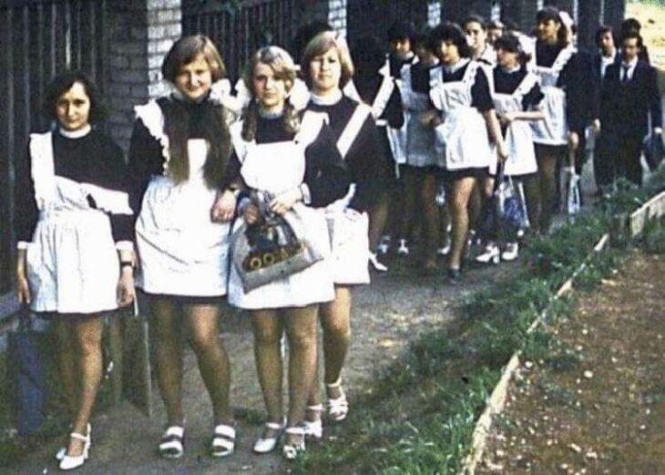 Вот как выглядели выпускницы 1970-х