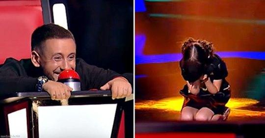 10-летняя девочка исполнила очень взрослую песню и заставила Монатика плакать вместе со зрителями