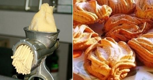 Печенье «Хризантема» и инструкция по его приготовлению