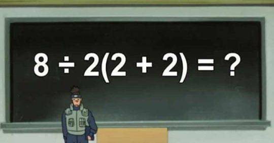 Математический пример из школьной программы разделил соц. сети на два лагеря