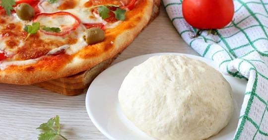 Получится с первого раза: тесто для пиццы, как в пиццерии