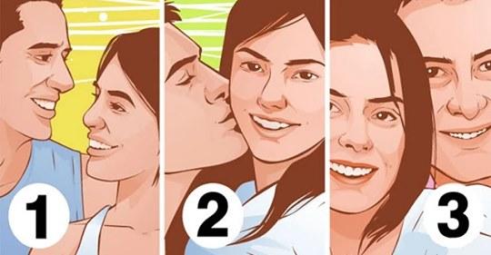 Тест: выберите самую счастливую пару и узнайте больше о ваших отношениях