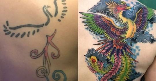 Вторая жизнь: 20 крутых татуировок-перекрытий
