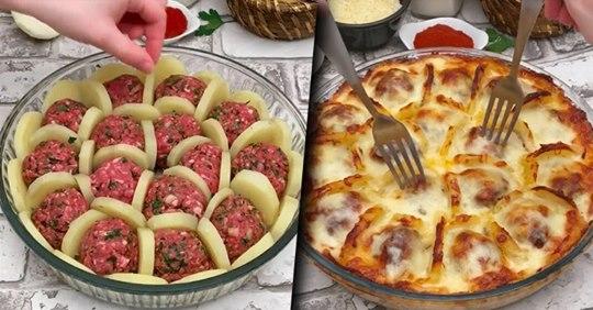 Сочные фрикадельки под соусом бешамель: оригинально и потрясающе вкусно!