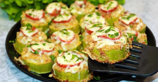 Кабачки с фаршем – быстро, легко и очень вкусно!