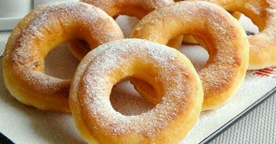 Пончики по американски: вкуснейшее лакомство за несколько минут