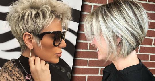 16 освежающих моделей объемных стрижек для женщин постарше
