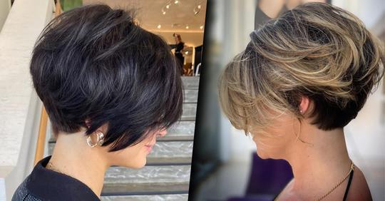 Разноуровневый боб: лучшая стрижка для красивого объёма волос