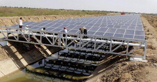 Ученый прорыв: установка солнечных электростанций над водными каналами, поможет сохранить запасы пресной воды и даст чистую энергию