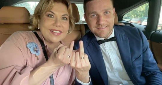 В 49 лет Марина Федункив вышла замуж за итальянца, которому 37 лет